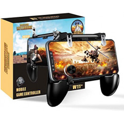 Mobile Game Controller aim Trigger Fire Buttons L1R1 Shooter Sensitive Joystick Gamepad for 4.7-6.5 inch iPhone & Android Phone